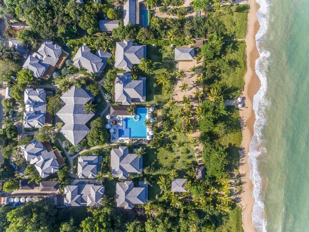 Uma vista aérea de Campo Bahia Hotel Villas Spa