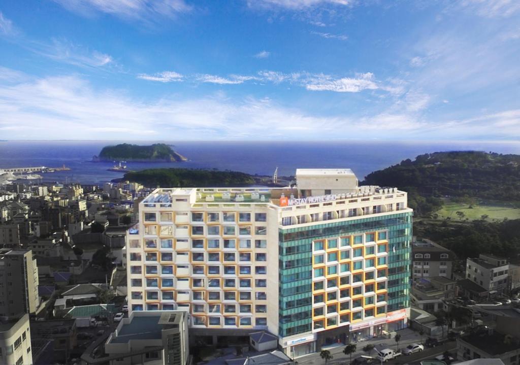 A bird's-eye view of Mstay Hotel