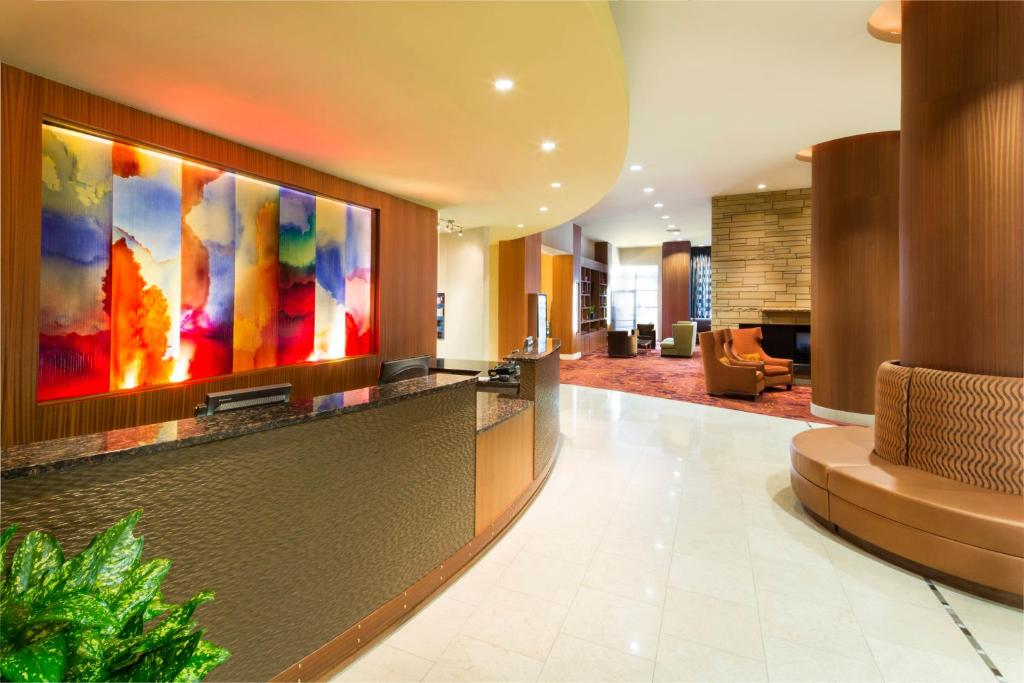 The lobby or reception area at Residence Inn Sacramento Downtown at Capitol Park