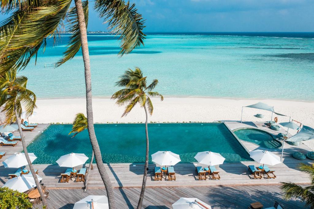 A view of the pool at Angsana Velavaru – All Inclusive SELECT or nearby