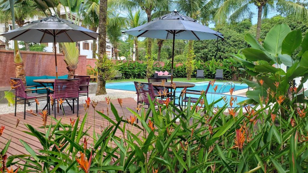 A piscina localizada em Pousada Toca da Praia ou nos arredores