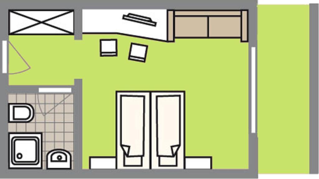 Grundriss der Unterkunft Landhotel Buchbergerhof