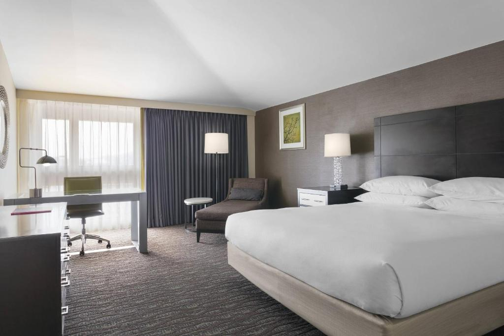 A room at the Delta by Marriott Hotels Baltimore North.