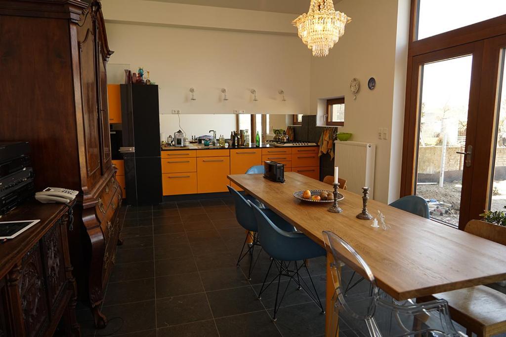 Küche/Küchenzeile in der Unterkunft Stille und Aussicht am Archäologischen Park