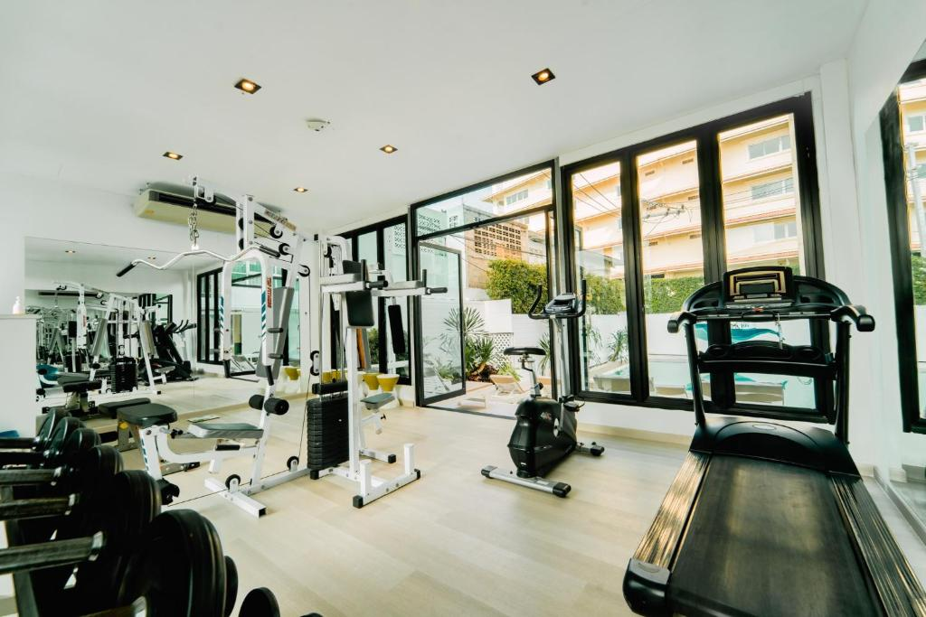 The fitness center and/or fitness facilities at Royal Pavilion Hua Hin