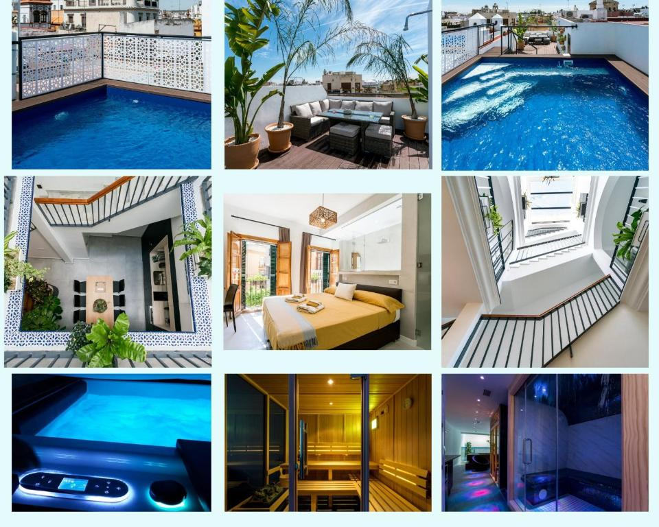 Unique House - Private SPA&Pool -StayInSeville
