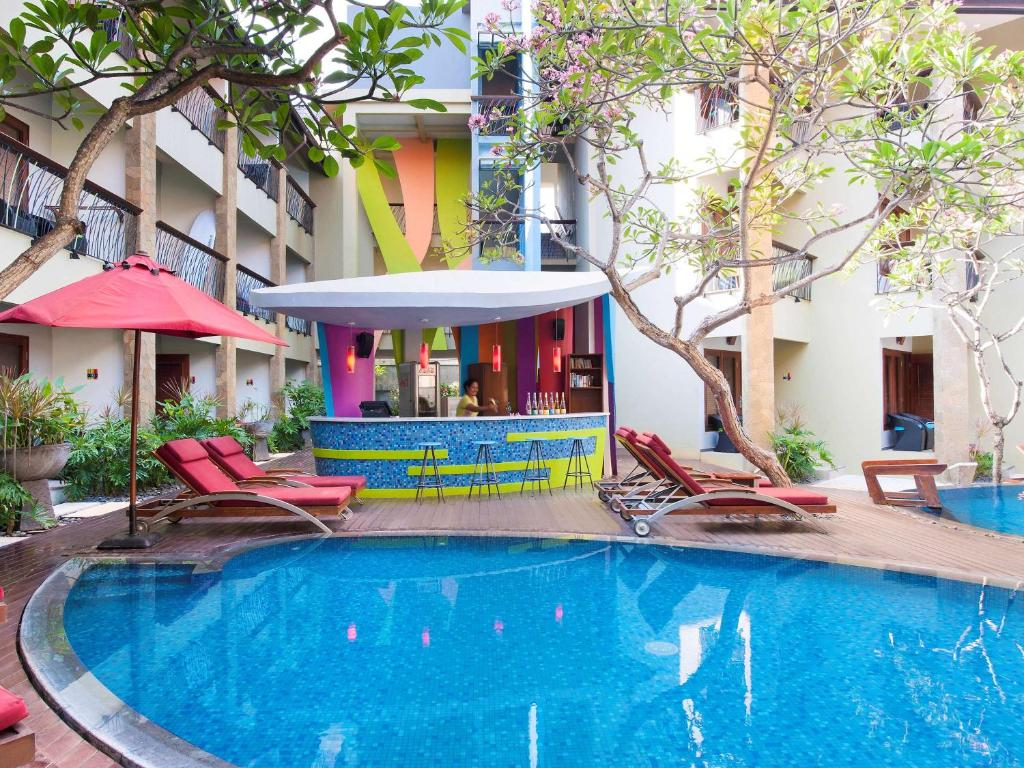 The swimming pool at or close to Ibis Styles Bali Legian