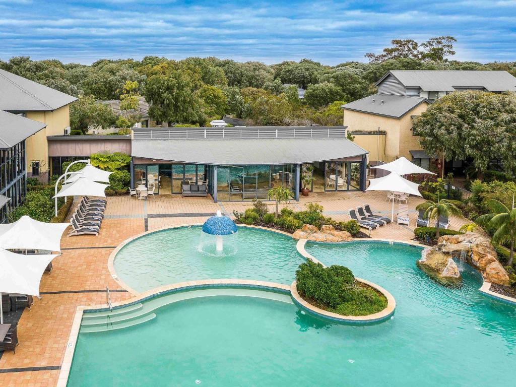 A view of the pool at The Sebel Busselton or nearby