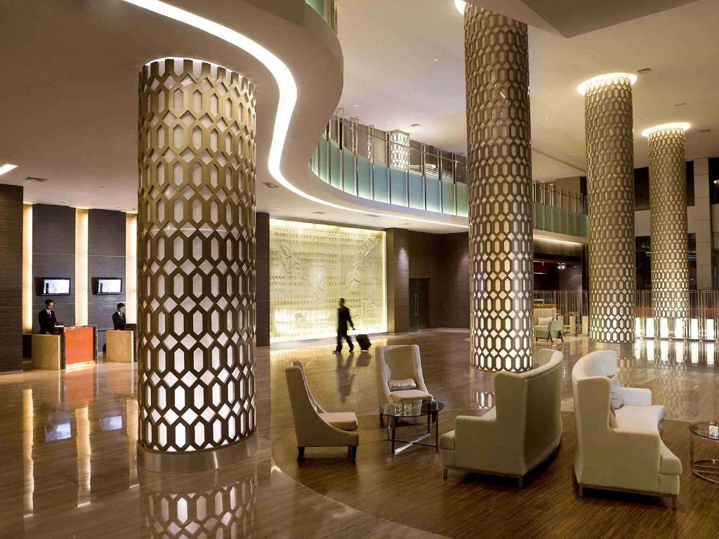 A restaurant or other place to eat at Novotel Bangka Hotel & Convention Center
