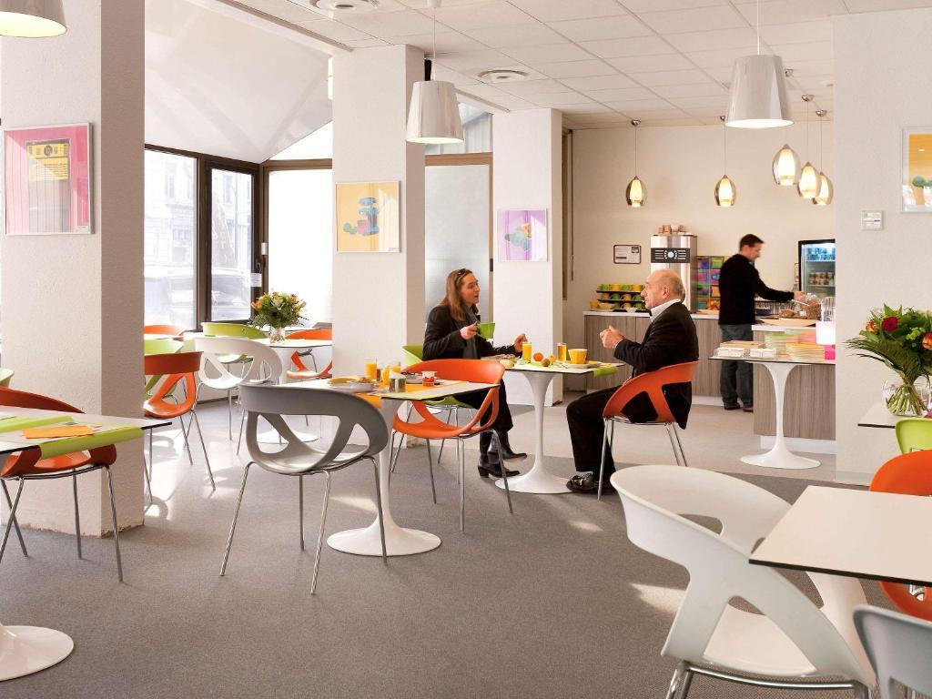 Restaurant ou autre lieu de restauration dans l'établissement ibis Styles Grenoble Centre Gare
