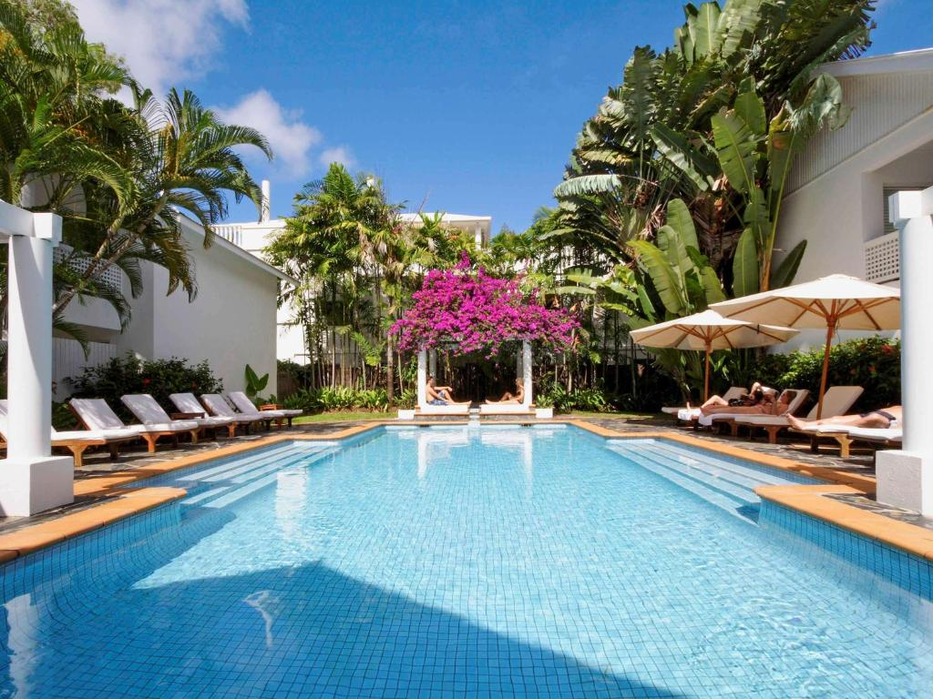 The swimming pool at or near The Reef House Boutique Hotel and Spa