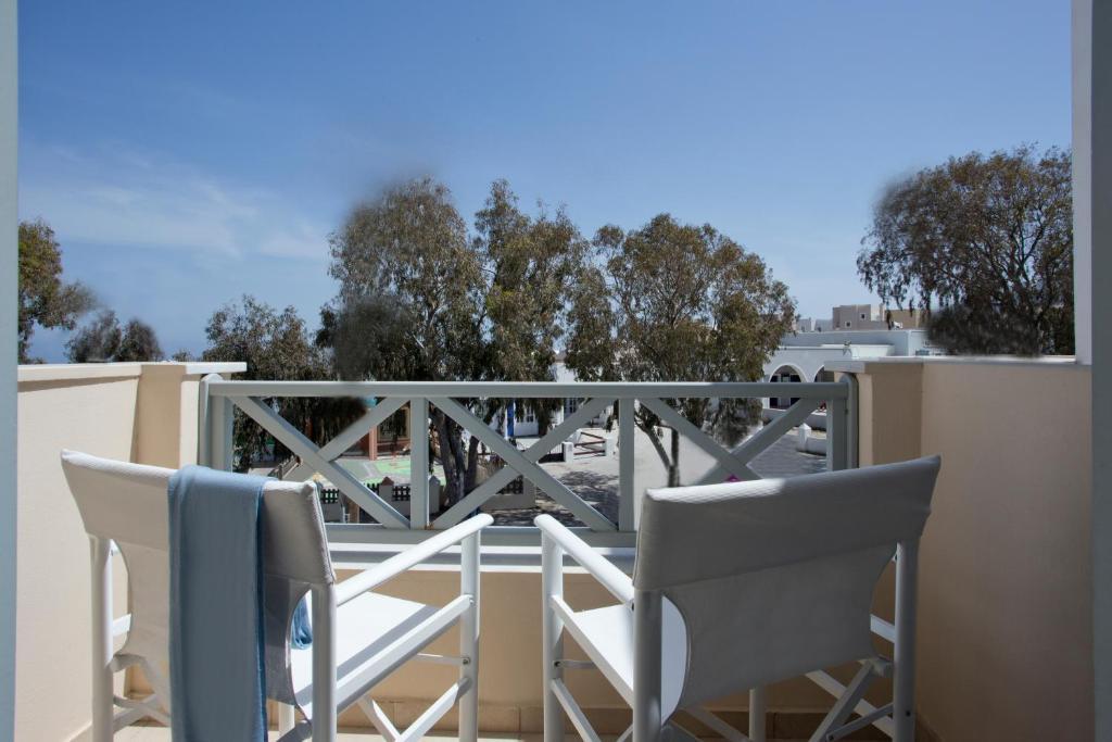 Balcone o terrazza di Santorini Med Homes