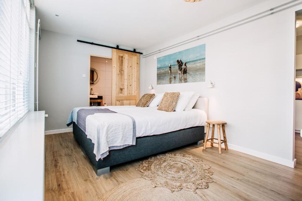 Un ou plusieurs lits dans un hébergement de l'établissement West 7