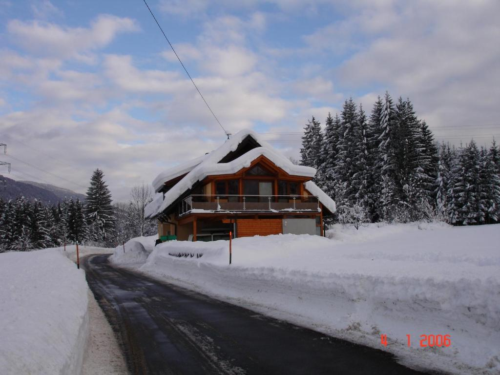 Apartment Janschitz Gundersheim im Winter