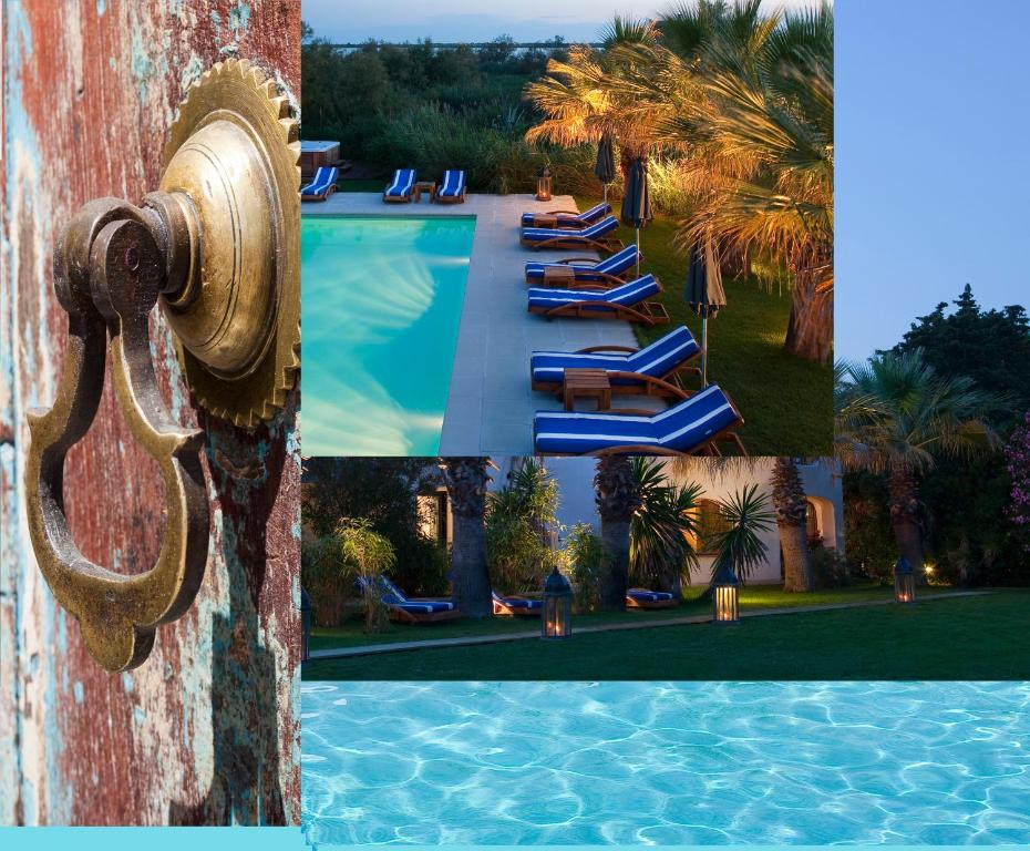 The swimming pool at or near Mangio Fango Hotel et Spa