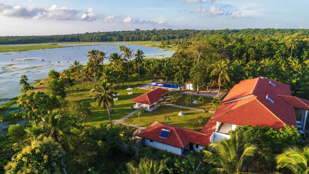 A bird's-eye view of The Notary's House
