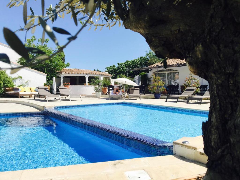 Der Swimmingpool an oder in der Nähe von La Tramontane