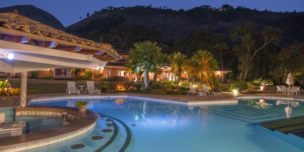 A piscina localizada em Quinta da Paz Resort ou nos arredores
