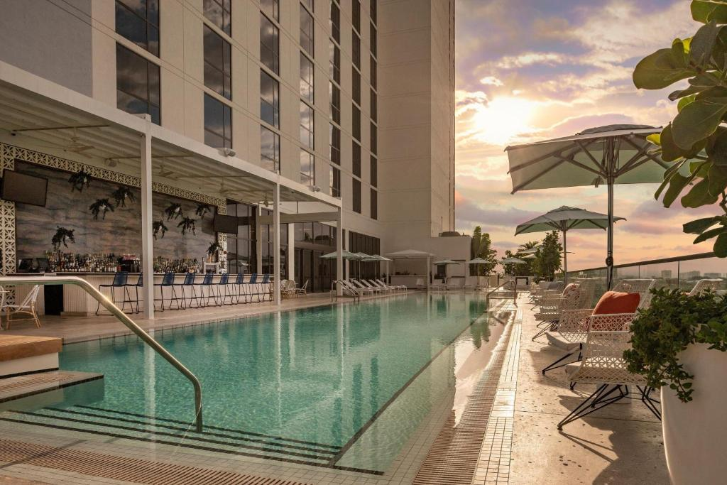 The swimming pool at or near The Dalmar, Fort Lauderdale, a Tribute Portfolio Hotel