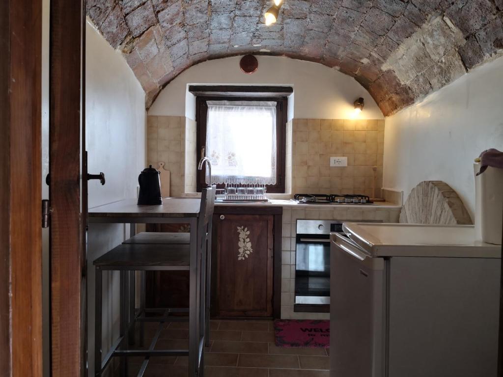 Cucina o angolo cottura di Residence Belvedere