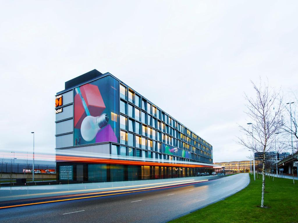 citizenM Hotel Amsterdam Airport - Laterooms