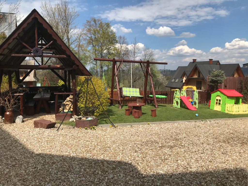 Children's play area at willa anulka