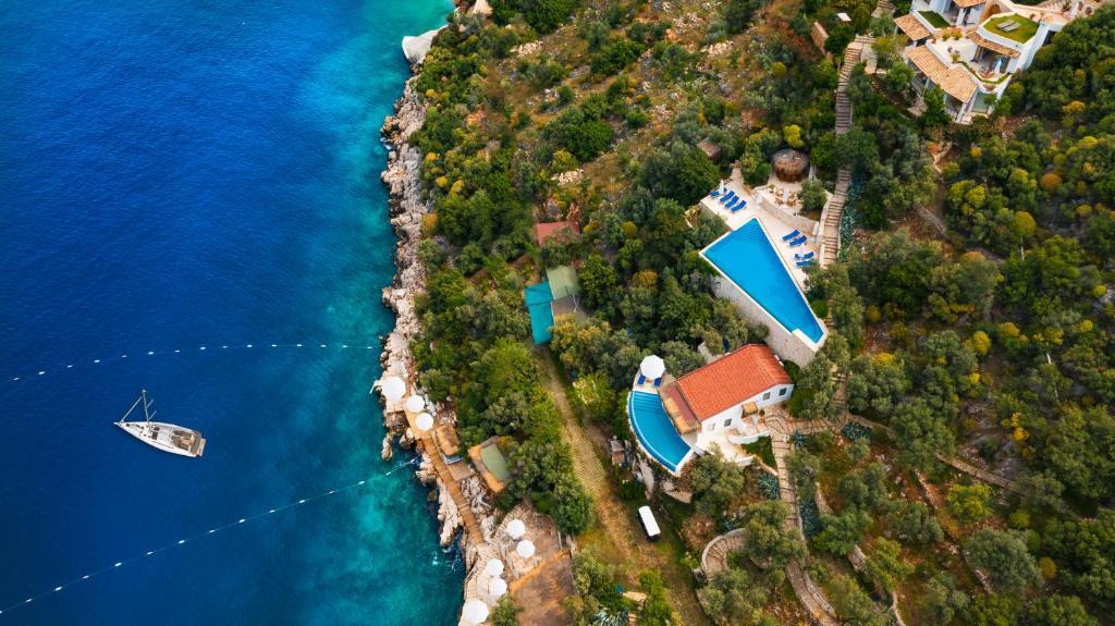 Hotel Villa Mahal с высоты птичьего полета