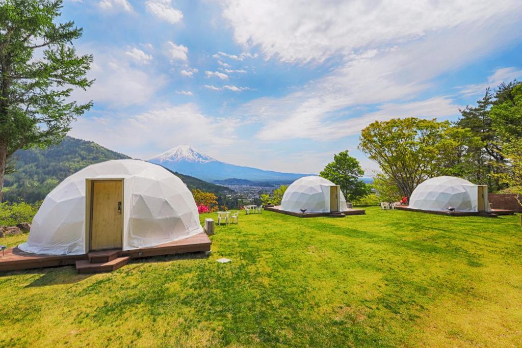 Mt.Shakushi Gateway Campにある庭