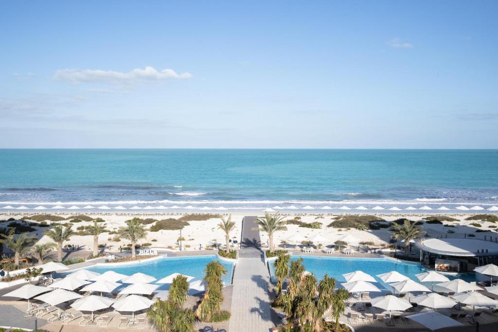 A view of the pool at Jumeirah at Saadiyat Island Resort or nearby