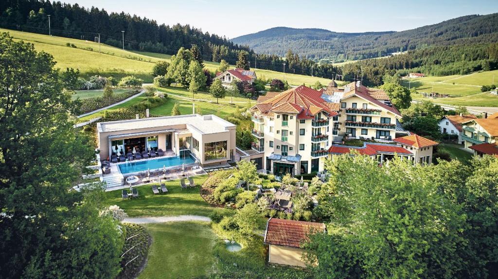 Blick auf Hotel Reinerhof aus der Vogelperspektive