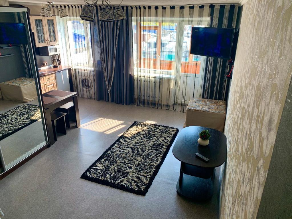 Гостиная зона в Apartaments Tornades