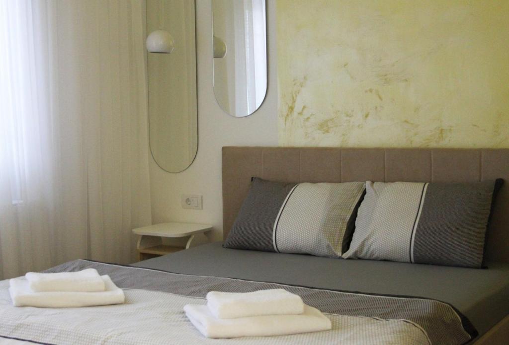 Krevet ili kreveti u jedinici u okviru objekta Mountain Apartmani Zlatibor