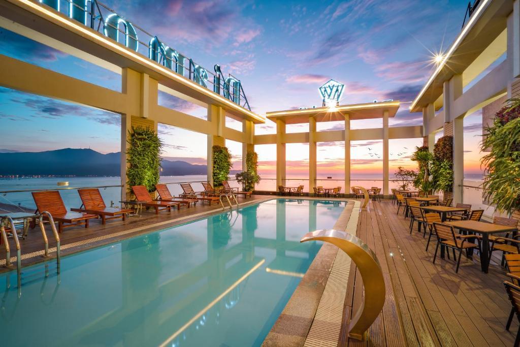 The swimming pool at or near Diamond Sea Hotel