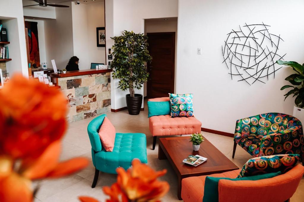Lobby/Rezeption in der Unterkunft Hotel Cucuve