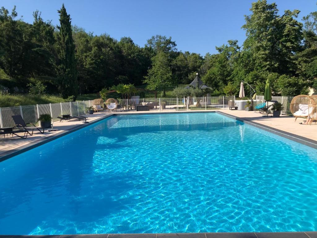 The swimming pool at or near La Cardinale