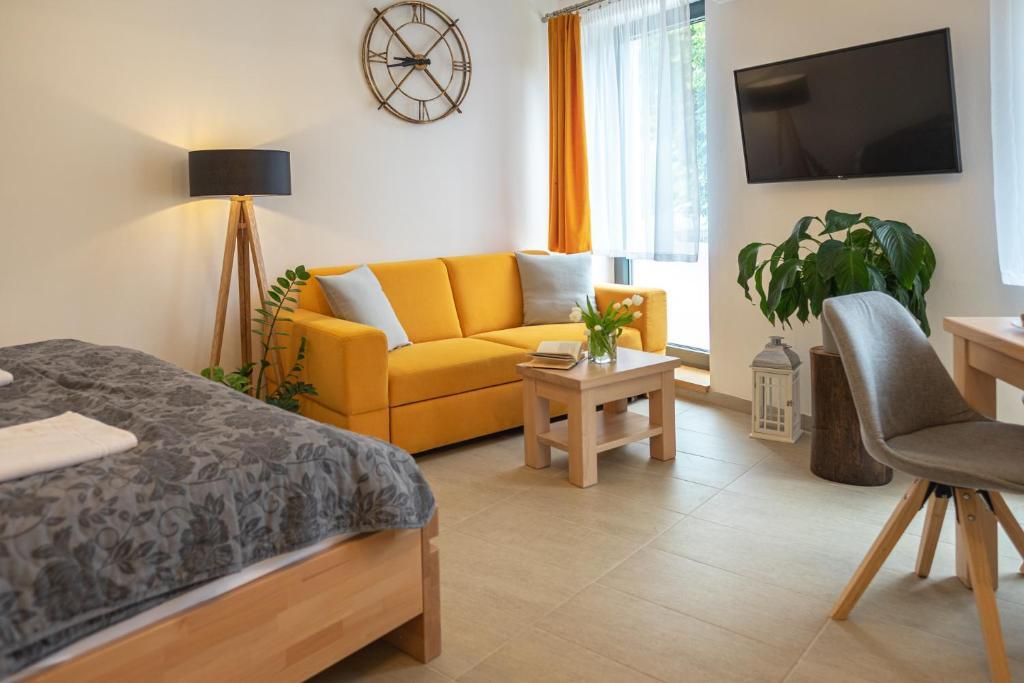 Posezení v ubytování Apartmán Calma