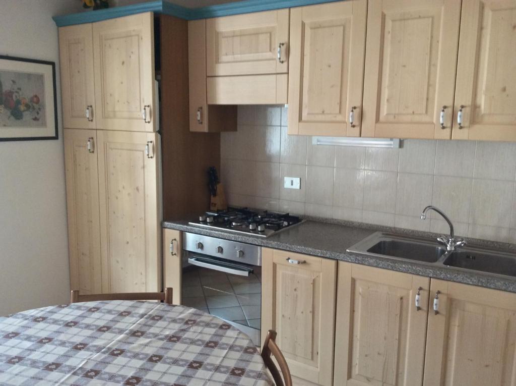 Cucina o angolo cottura di Appartamenti Donini Marco