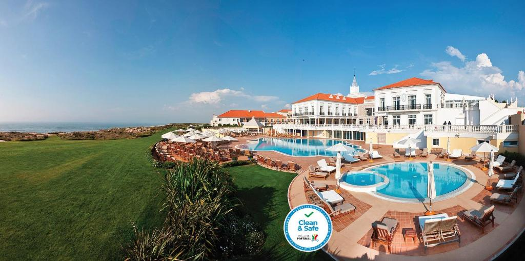 A view of the pool at Praia D'El Rey Marriott Golf & Beach Resort or nearby