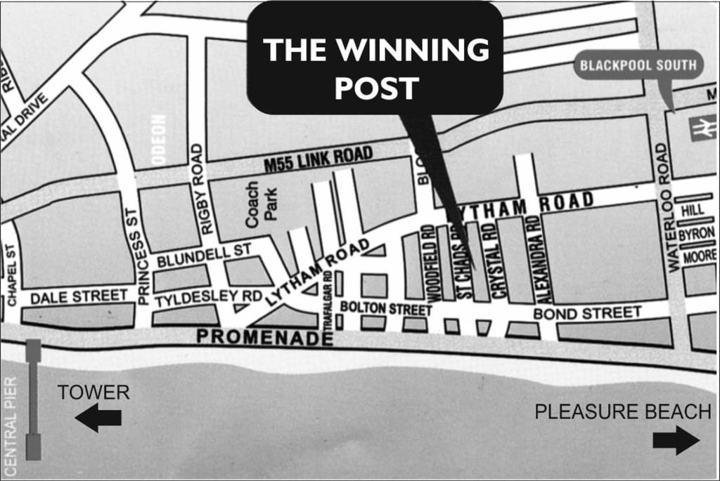 The Winning Post - Laterooms