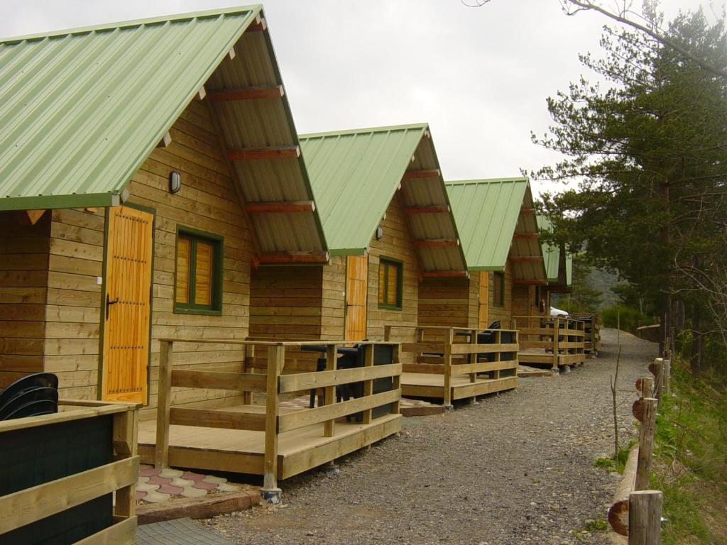 Edificio en el que se encuentra el camping