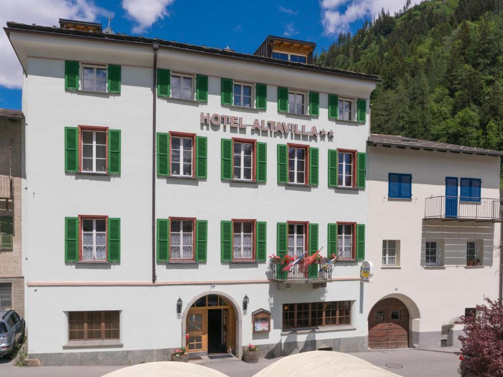 Albergo Altavilla Poschiavo, Switzerland