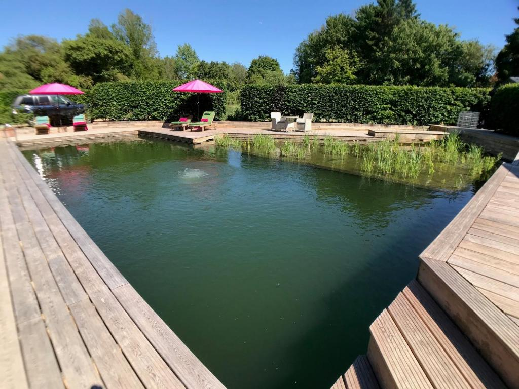 The swimming pool at or near Piglets Boutique B&B