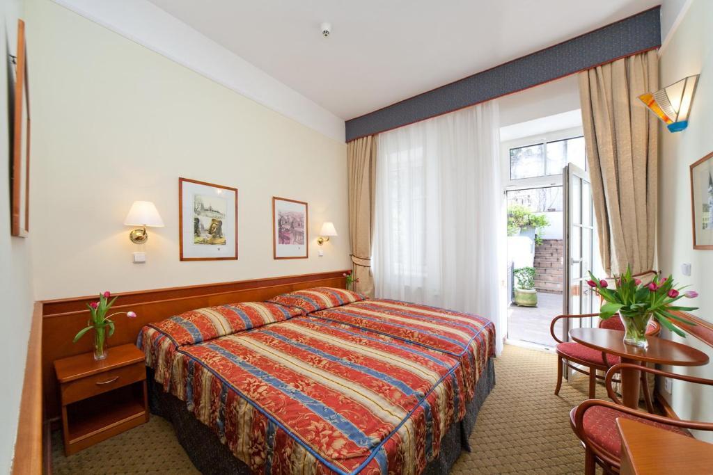 Кровать или кровати в номере Boutique Hotel 16