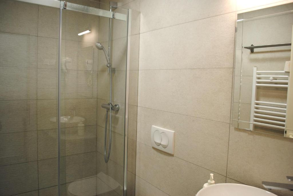 A bathroom at Hotel Fala