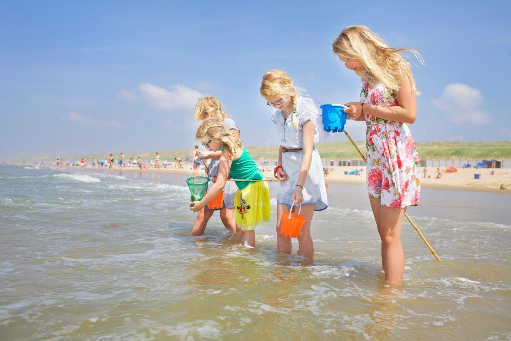 Kinderen die verblijven bij Stayokay Hostel Haarlem