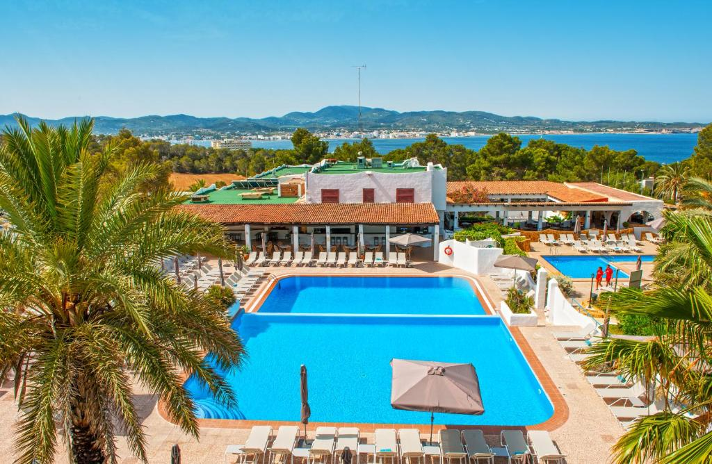 A view of the pool at Marble Stella Maris Ibiza or nearby