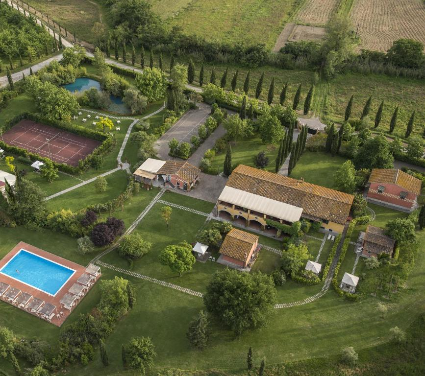 Vista aerea di Tenuta i Massini
