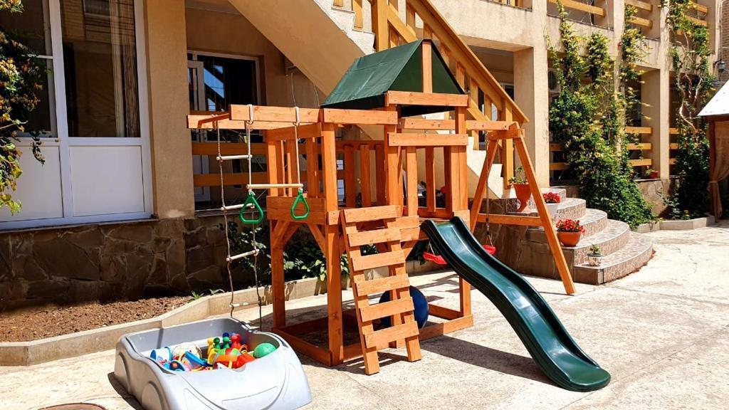 Children's play area at Гостевой Дом Александрия