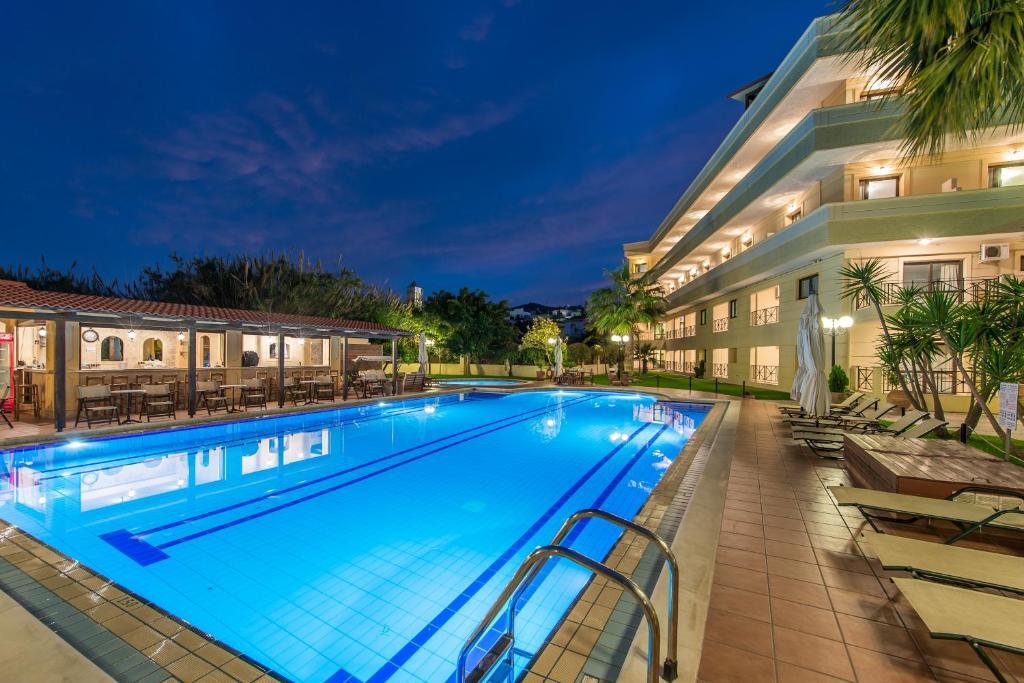 The swimming pool at or near Mirtilos Studios & Apartments
