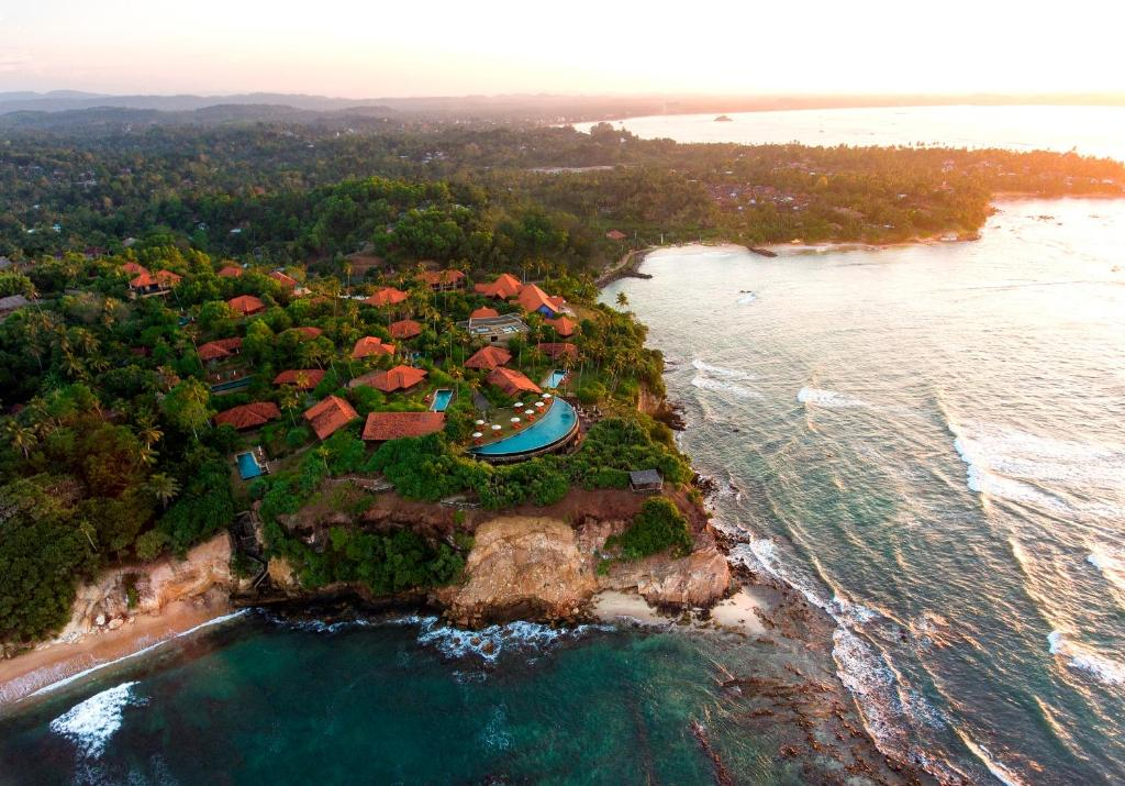 A bird's-eye view of Cape Weligama